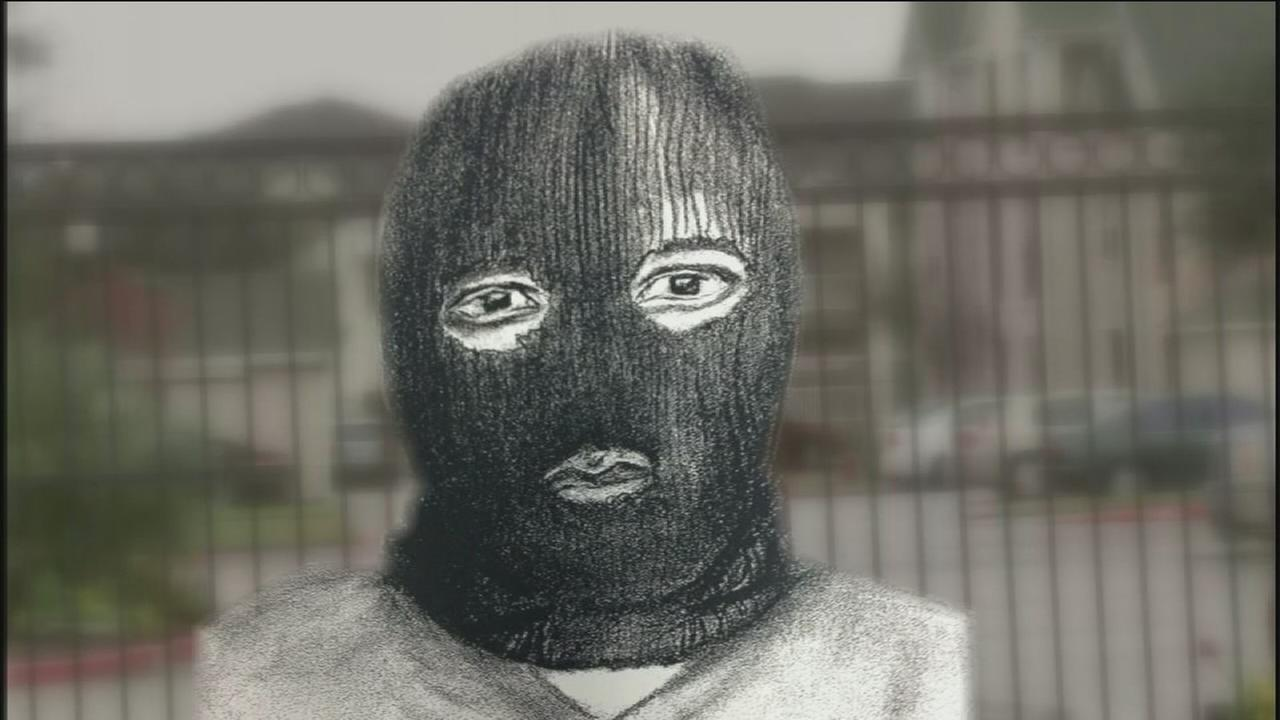 Police release sketch of mask-wearing suspect