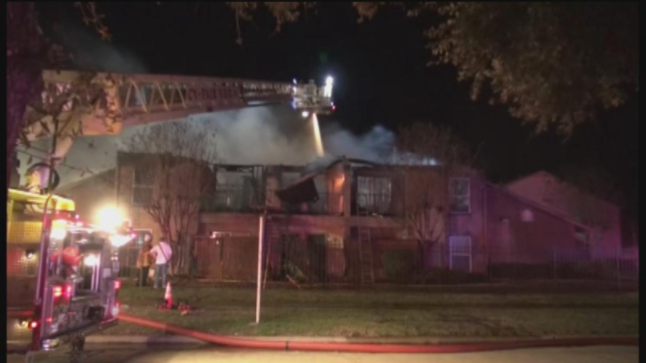 Two alarm apartment fire