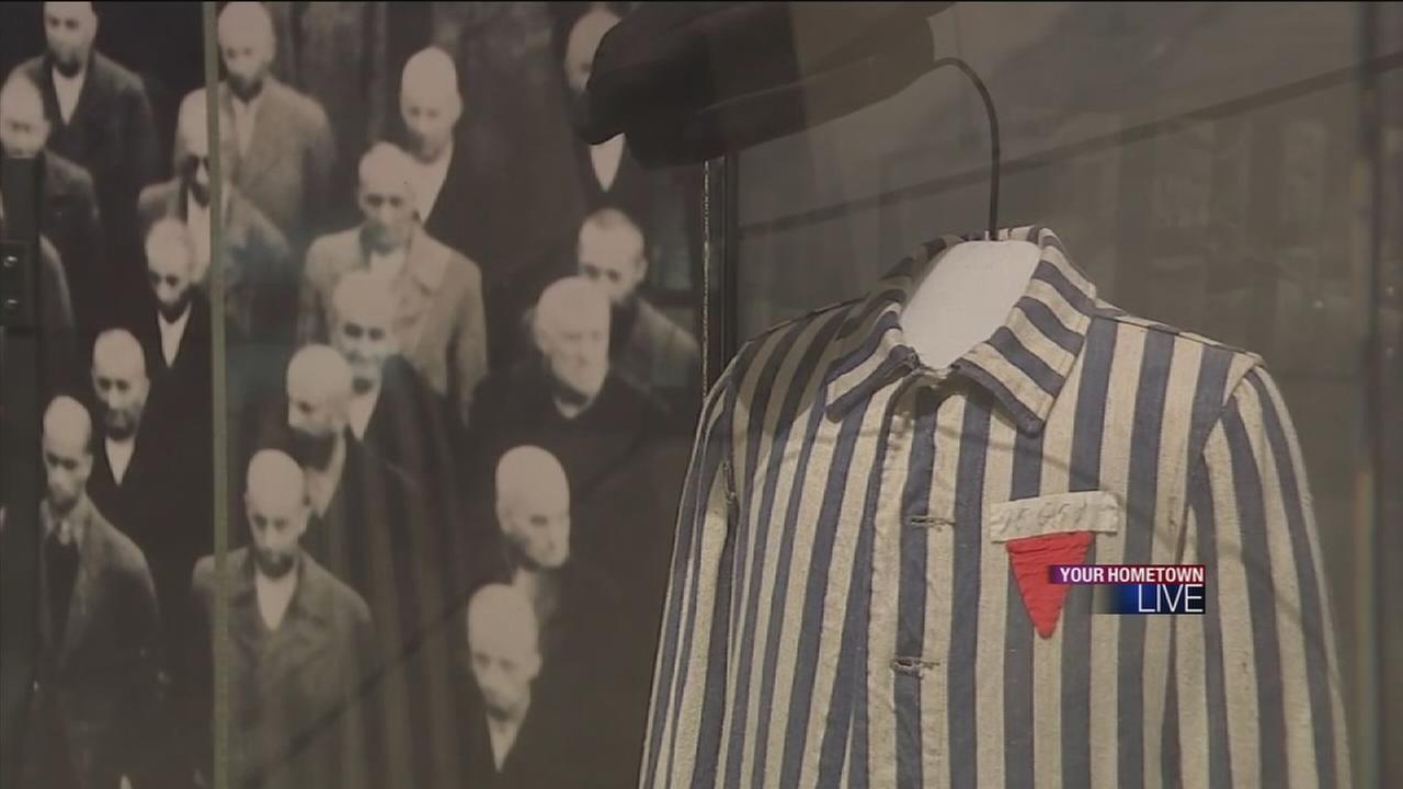Holocaust survivors attend ceremony at museum