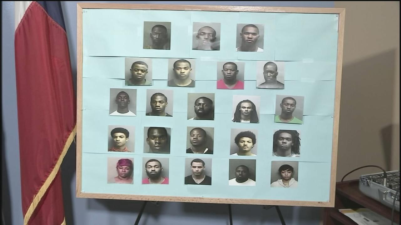 Multiple suspects charged in crime ring