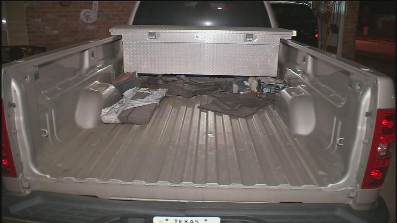 Police: Truck tailgates stolen, resold online