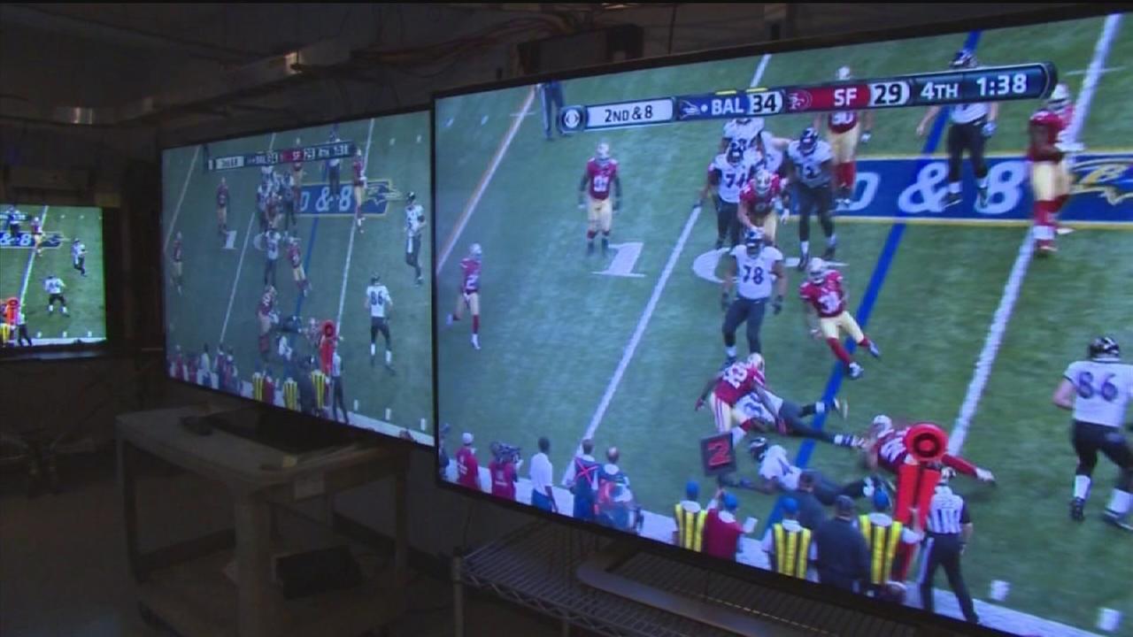 Super Bowl TVs