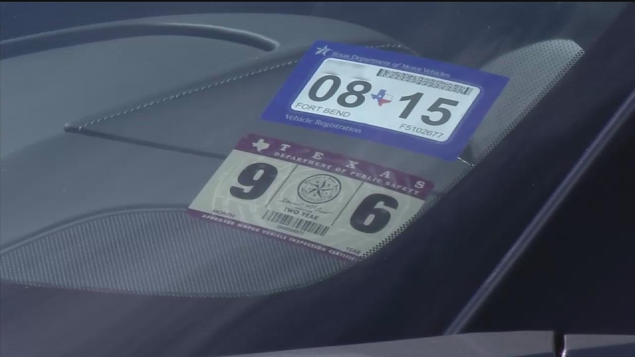 New Texas car registration, sticker system now in effect | abc13.com