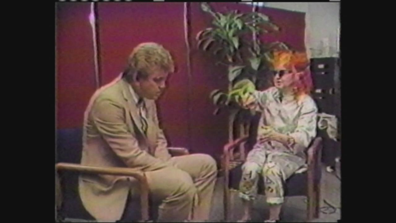 Don with Cyndi Lauper