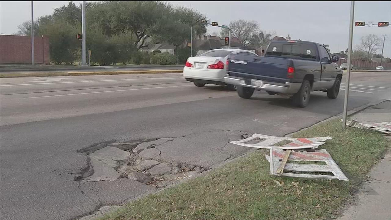 Cash is there, so why no Houston road repair?