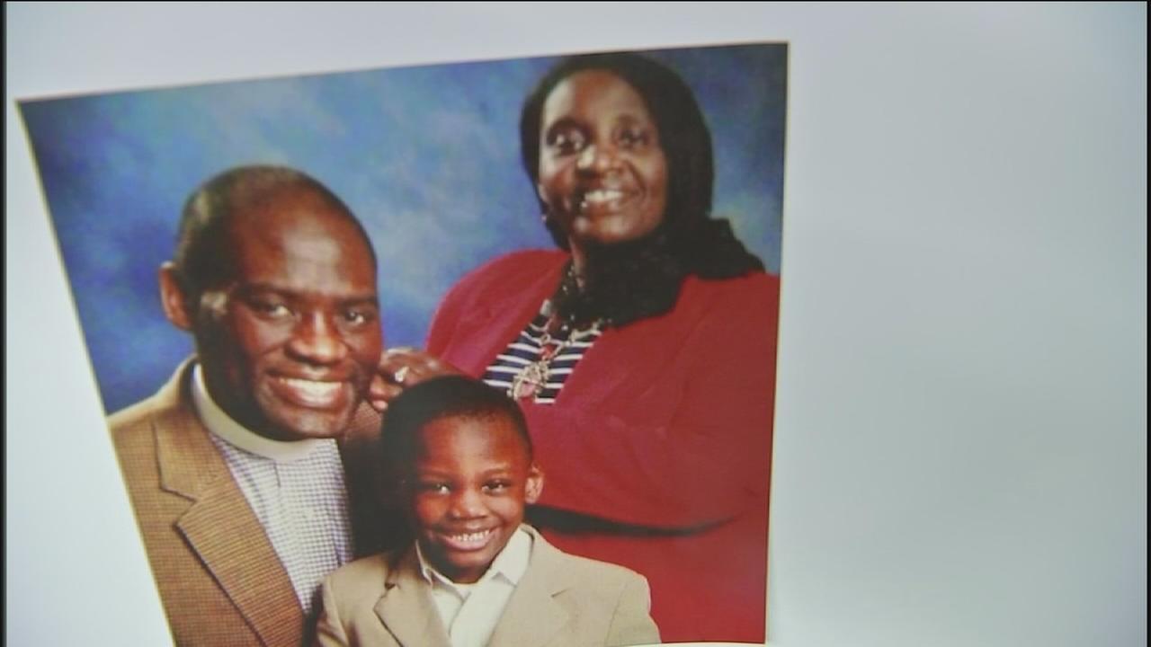 Memorial held for murdered family