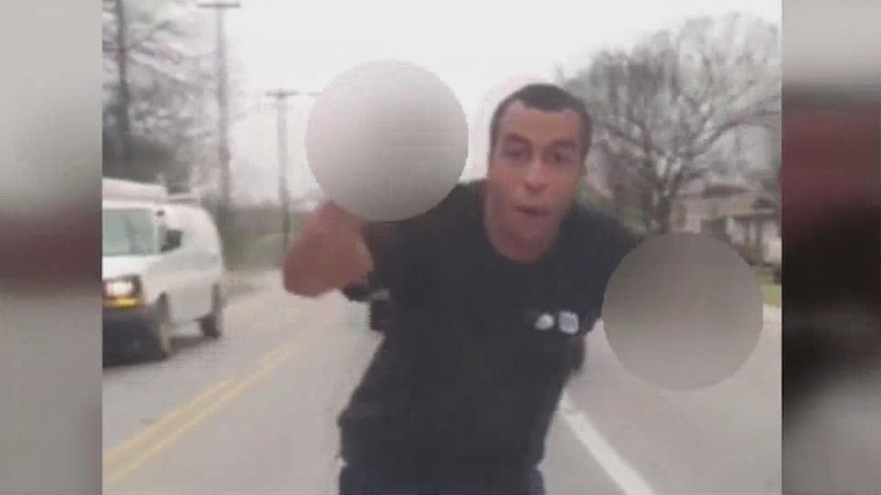 Road rage suspect