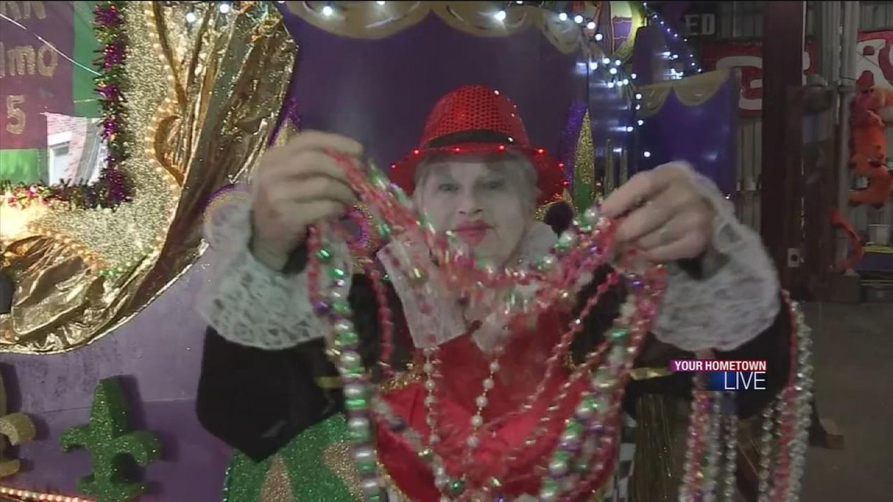 Mardi Gras celebrations in Galveston