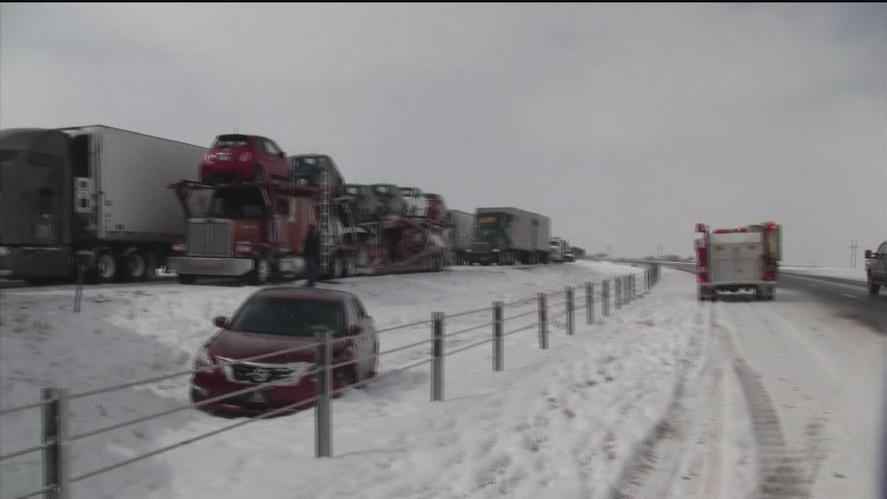 Freezing weather impacts north Texas