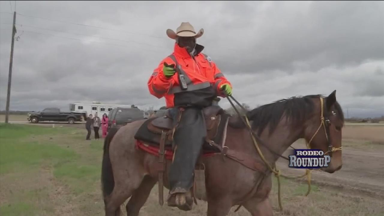 Northeastern trail riders make their way into town