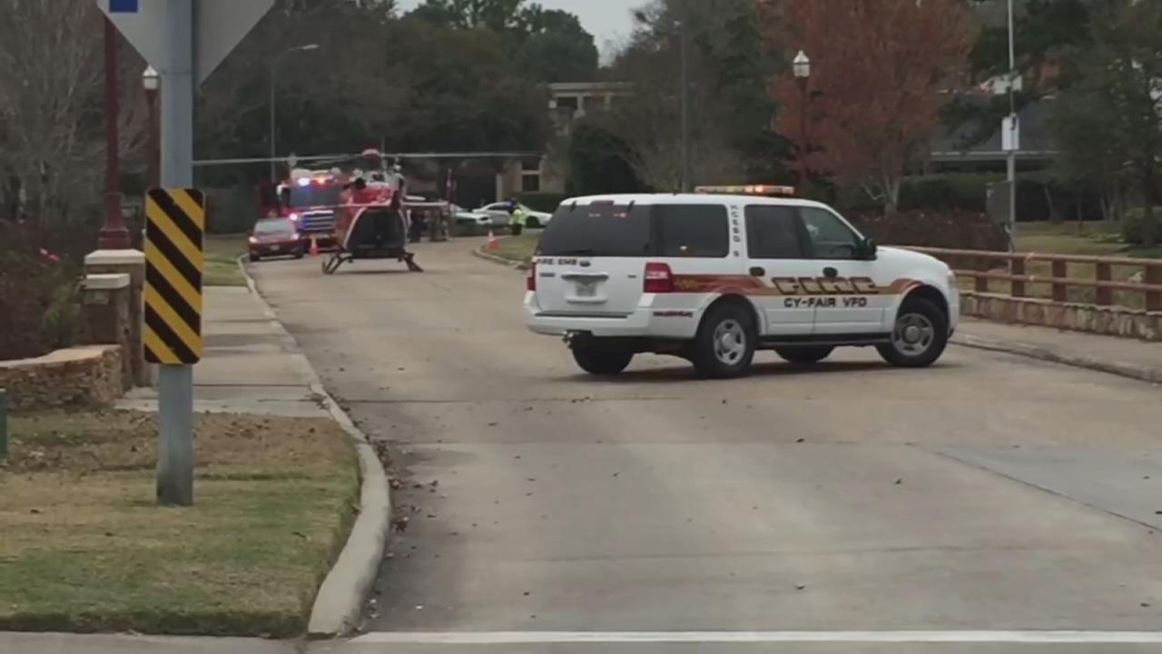 Three-year-old shot in NW Harris County