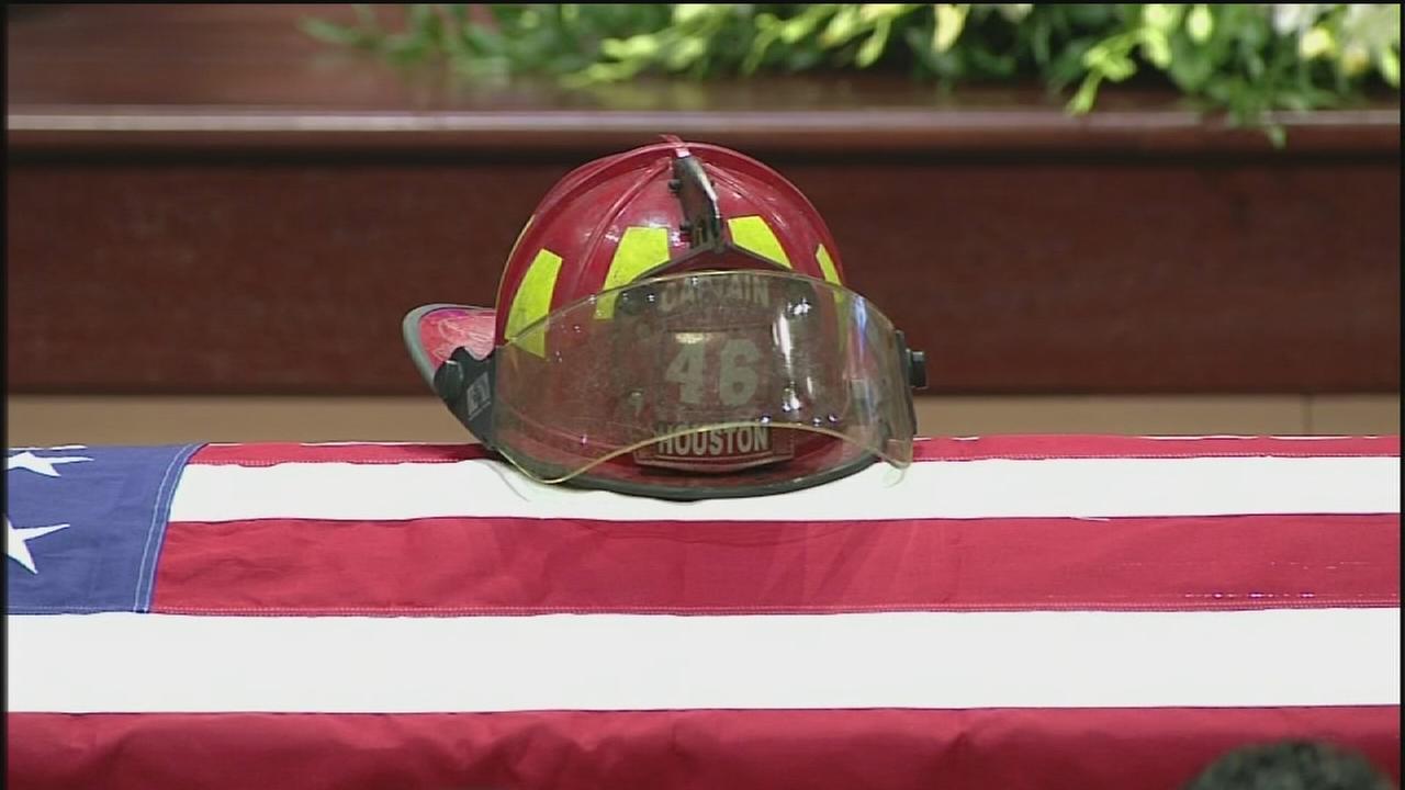 Remembering a fallen firefighter