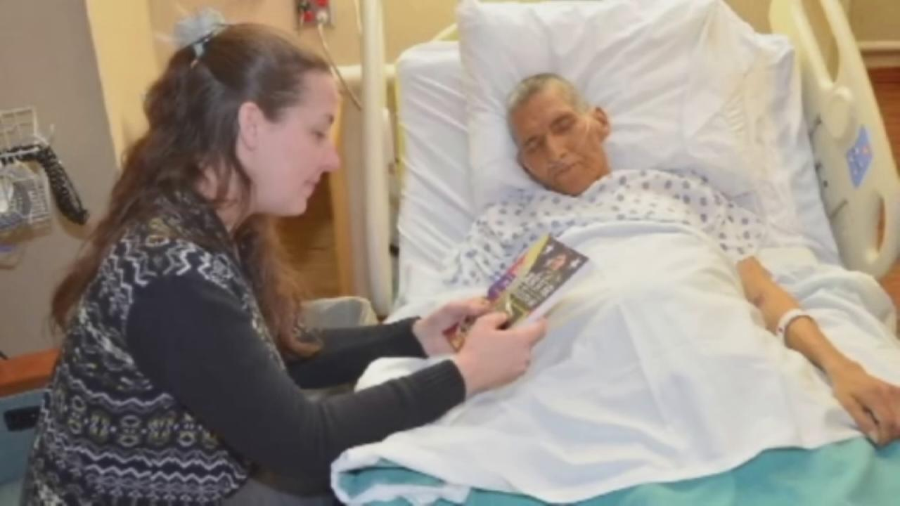 Community grants Marine dying wish
