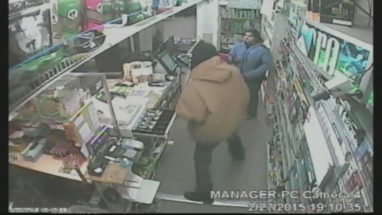 Clerk vs robber