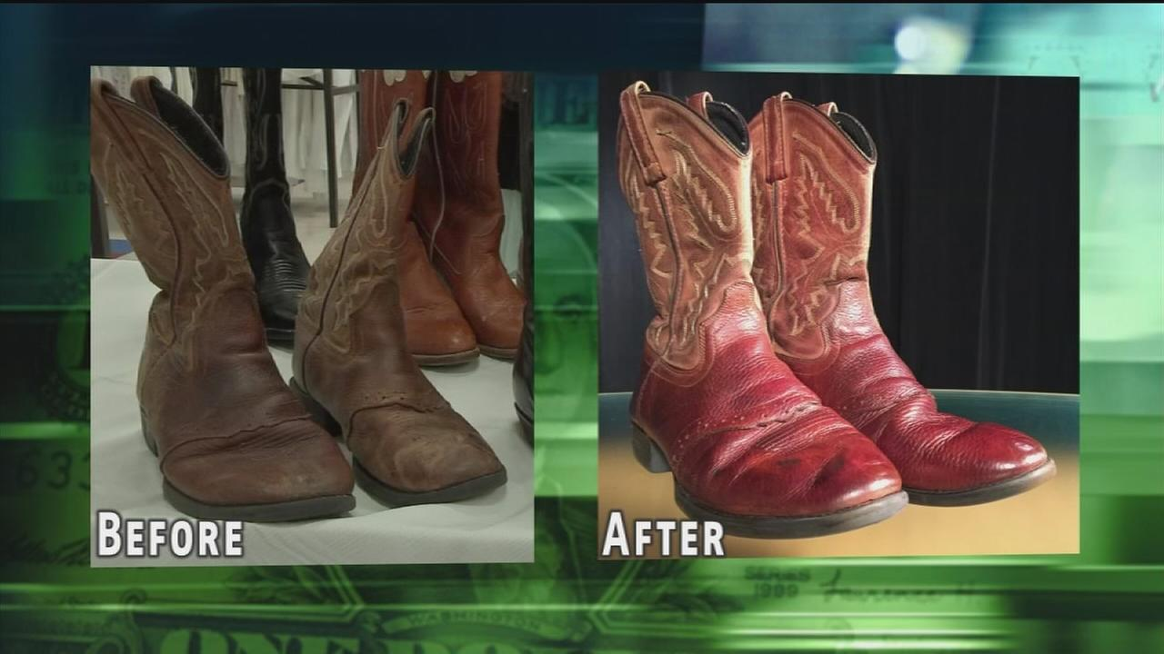 Make your old boots Rodeo ready for cheap