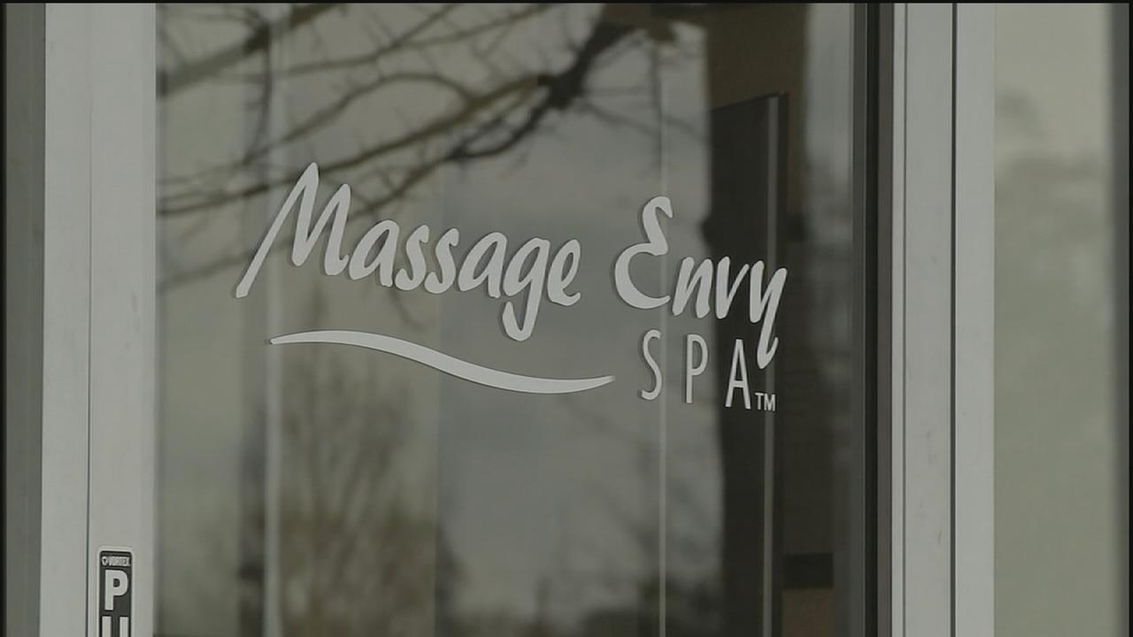 Massage therapist accused of sex assault