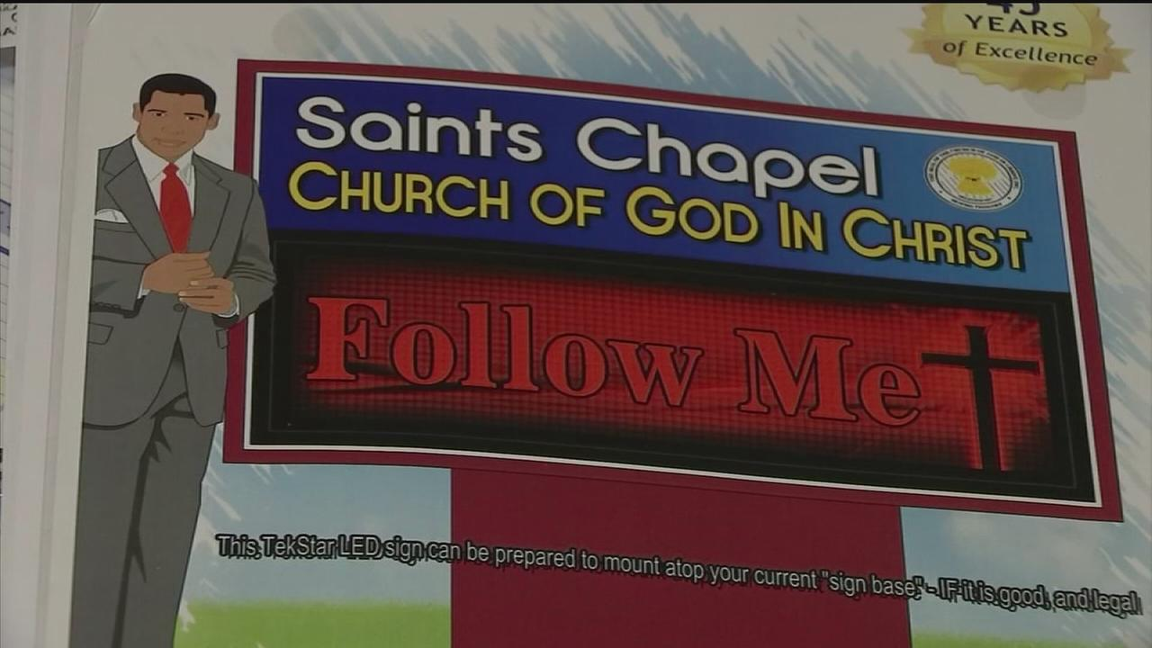 Church turns to ABC-13 after waiting months for sign installment