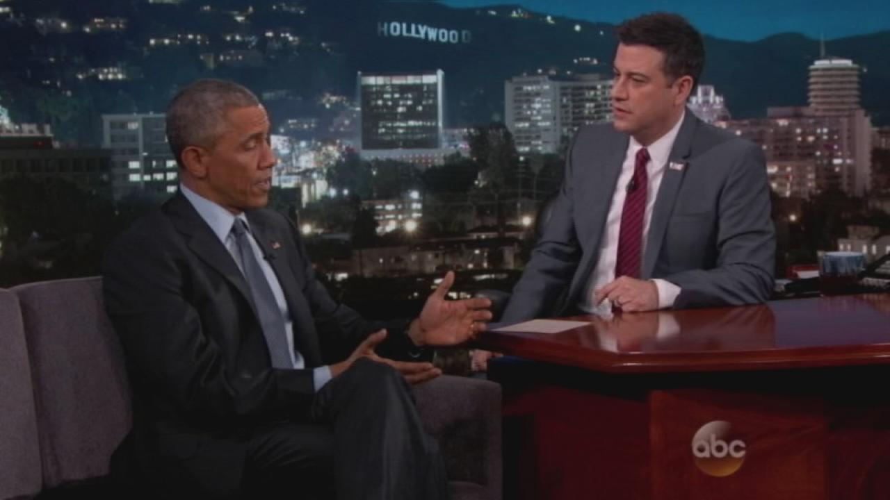 President Obama on Kimmel