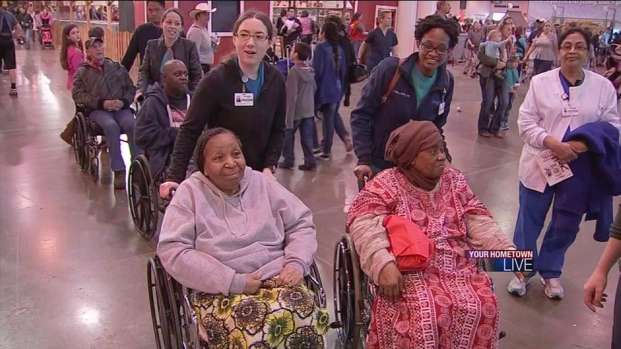 Rodeo rehab for hospital patients