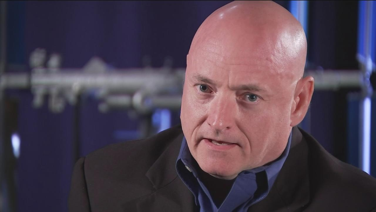 Scott Kelly prepares for a year in space on ISS