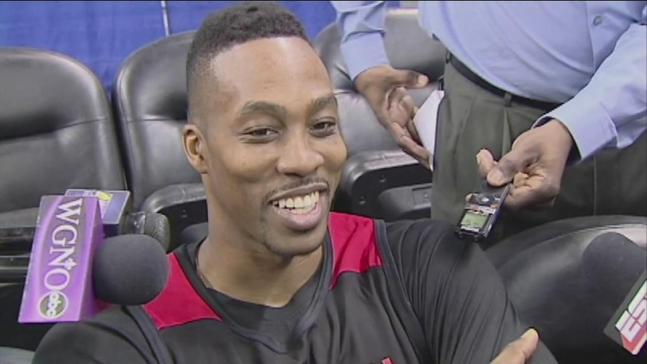 Dwight Howard has reason to smile