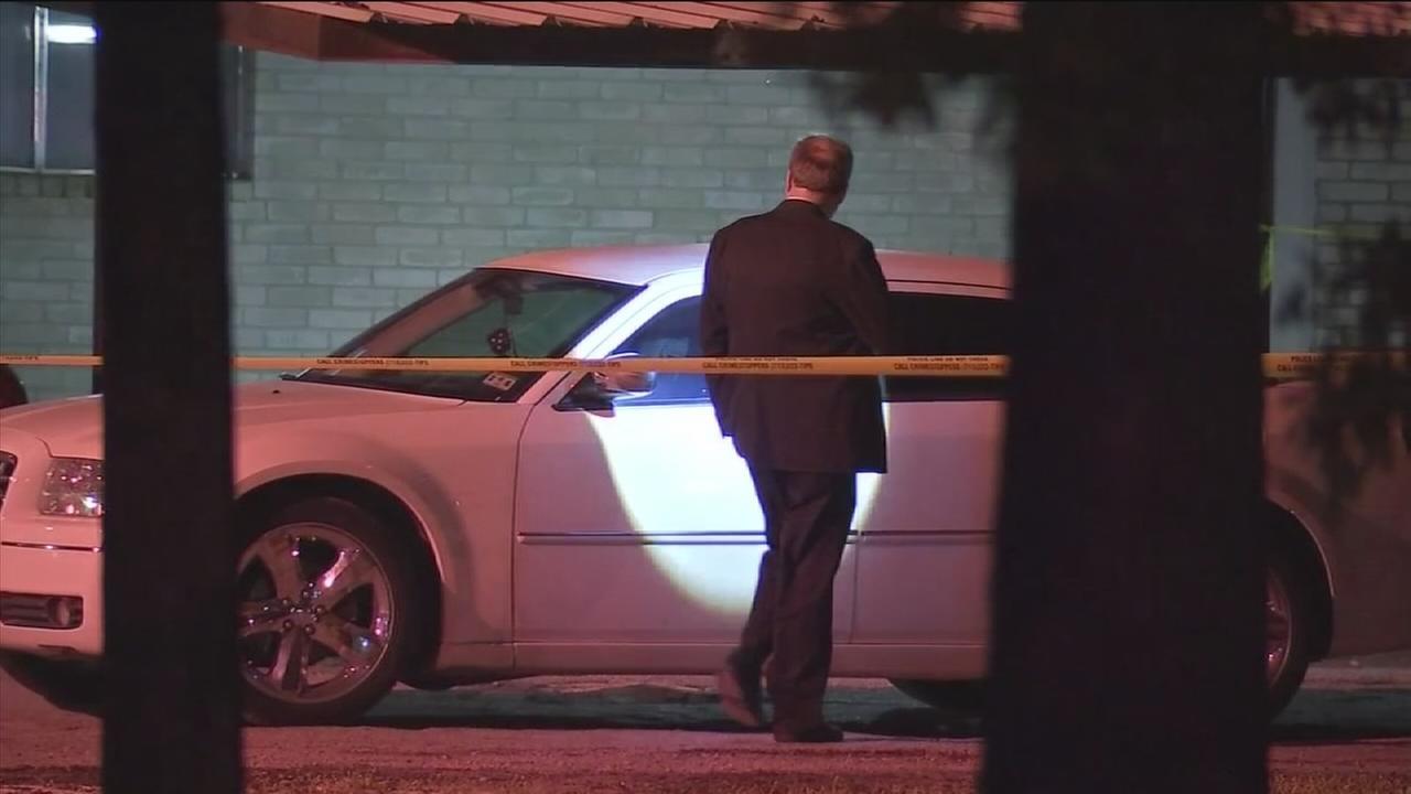 Man found dead near car