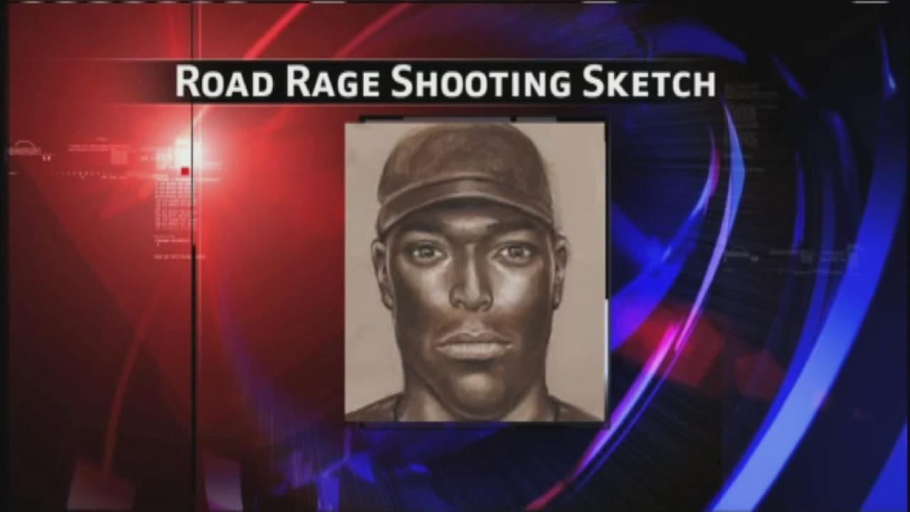Sketch released in road rage shooting