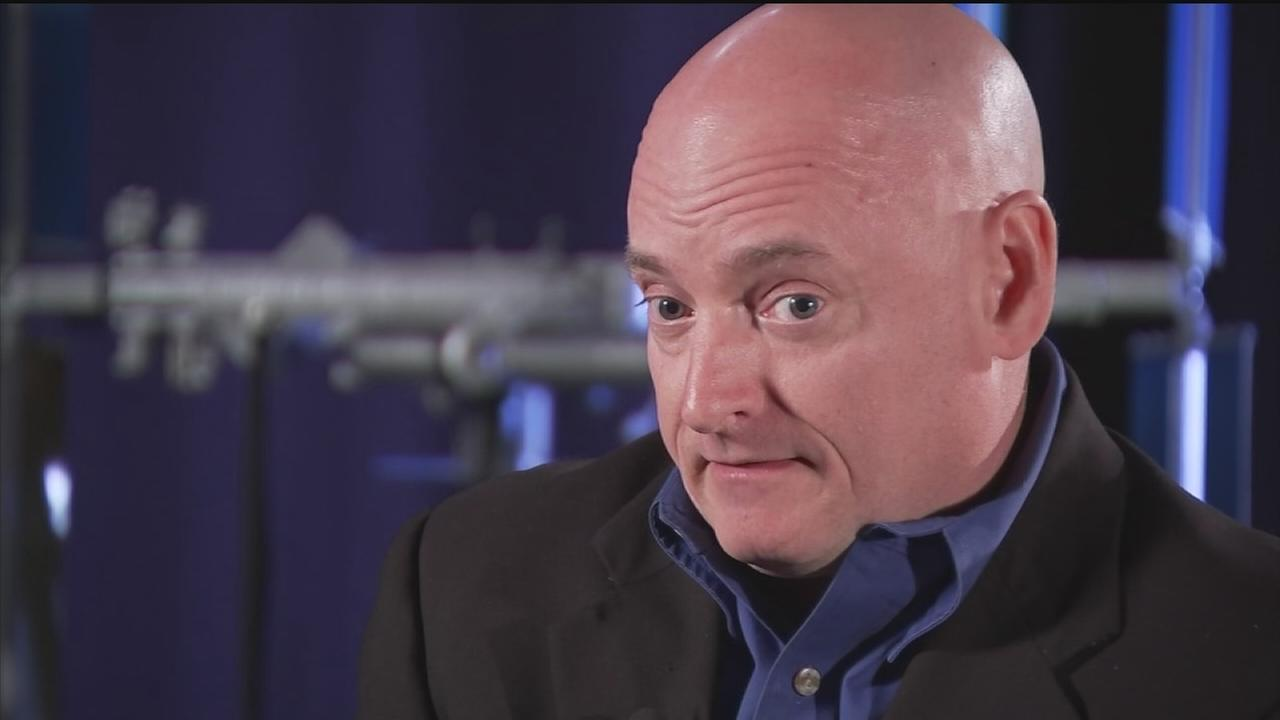 Astronaut Scott Kelly preps for yearlong space mission