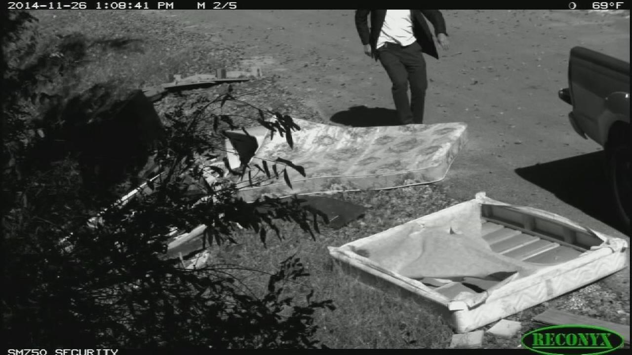Surveillance video capture illegal dumping in East End