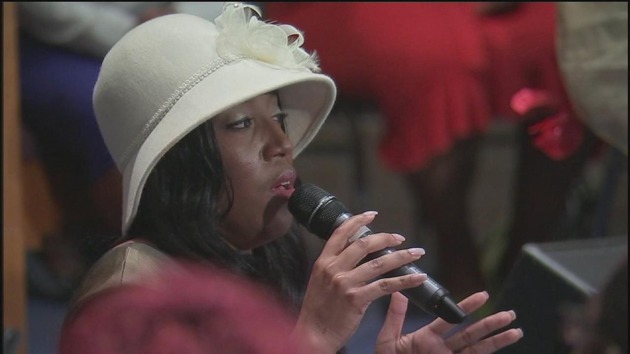 Road rage victim gives tearful testimony at church