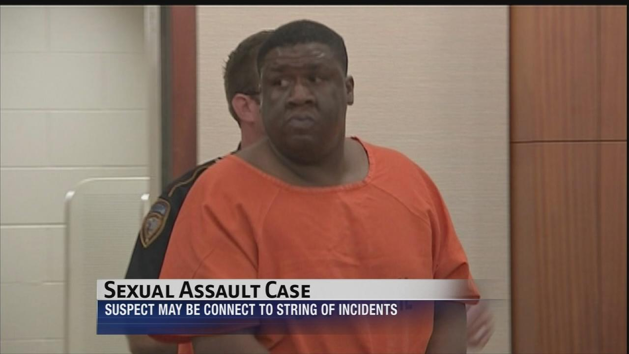 Sex assault suspect appears in court