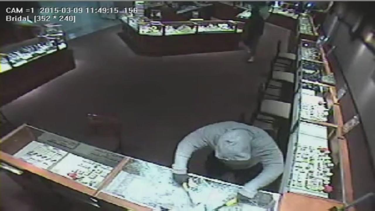 Jewelry store robbery suspects