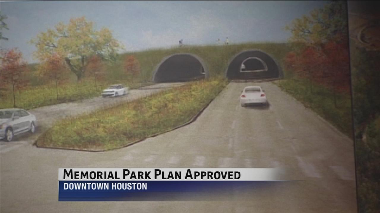 Memorial Park plan approved by council