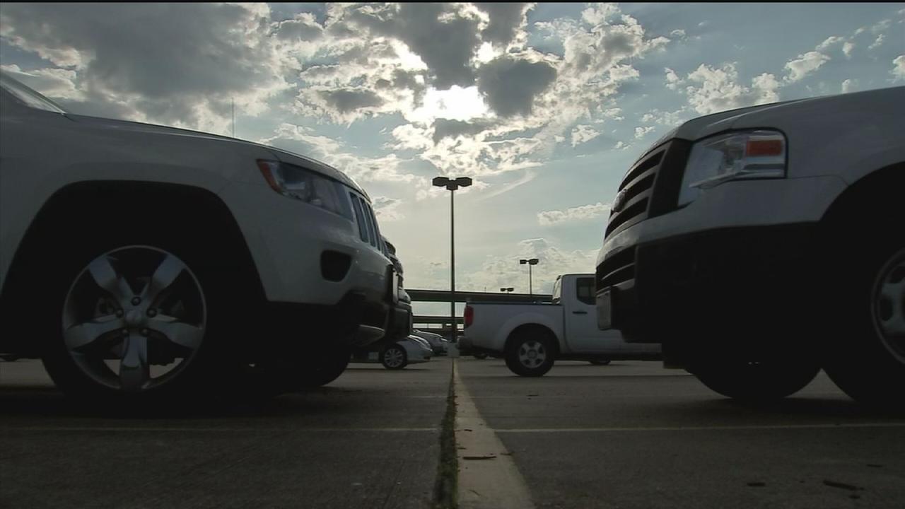Car burglars targeting Park and Ride users