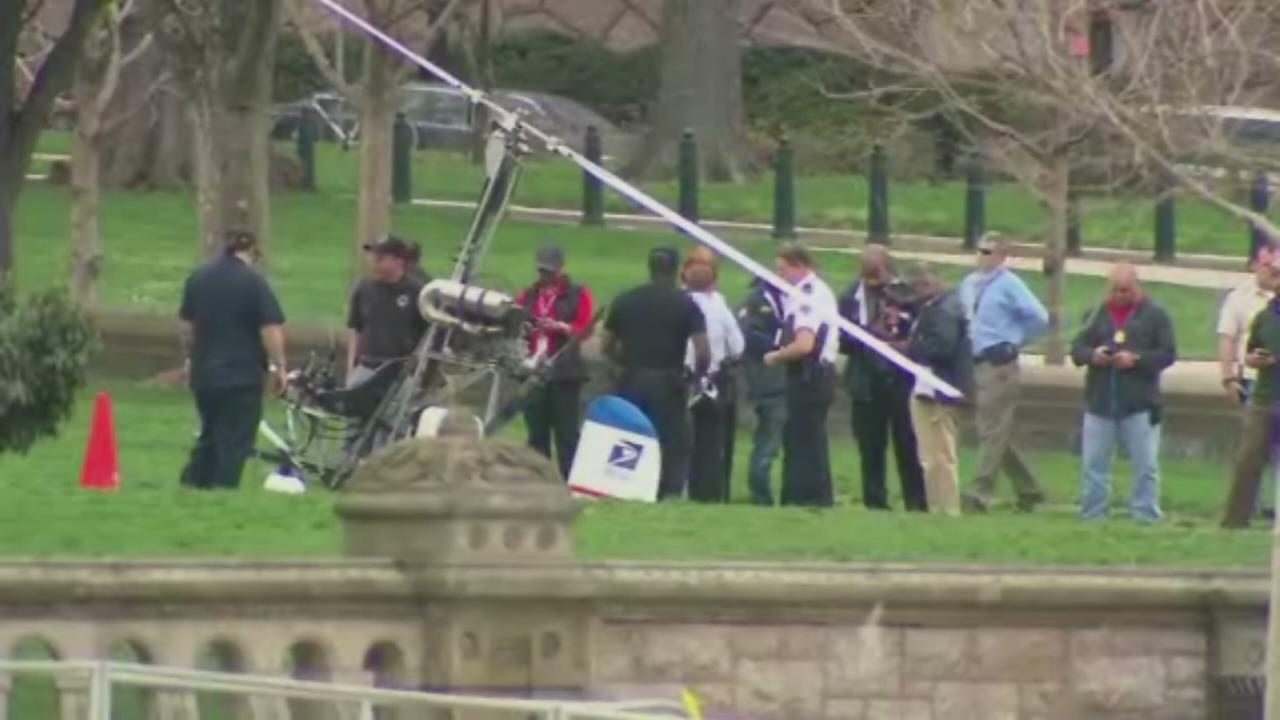Gyrocopter lands near U.S. Capitol