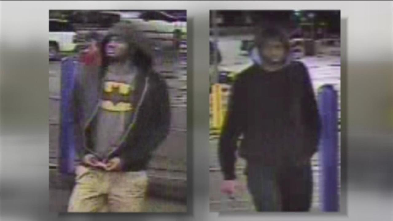 Two men wanted for armed robbery at Walmart