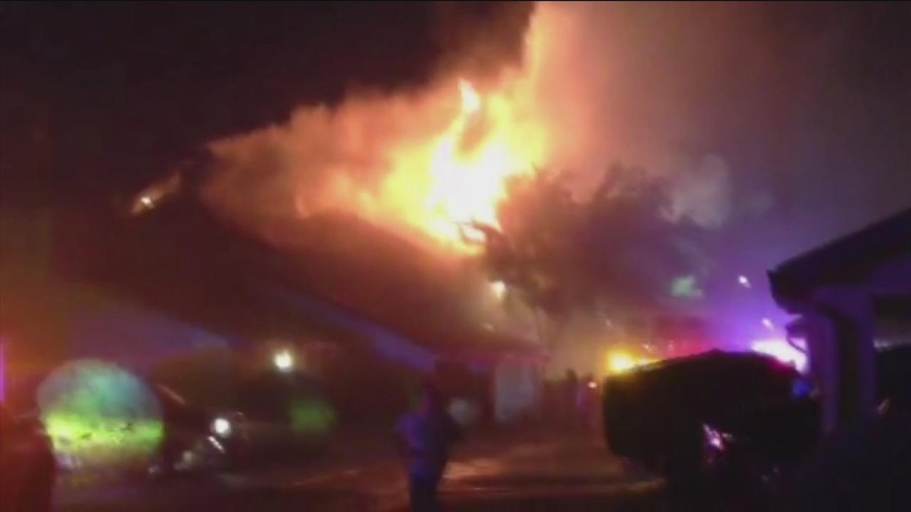 Fire breaks out at NW Harris Co. apartment complex