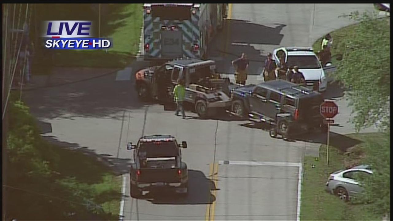 Injury accident in front of Spring ISD school