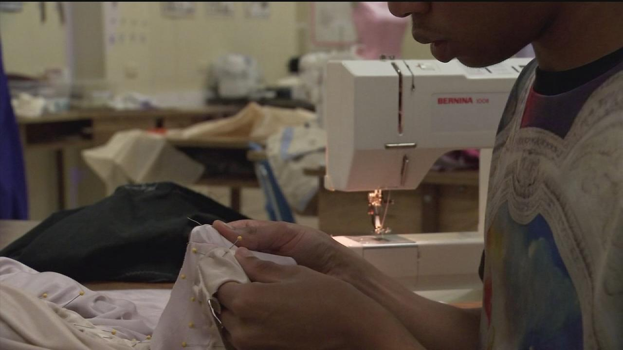 Businesswoman teams up with HS to save art of sewing