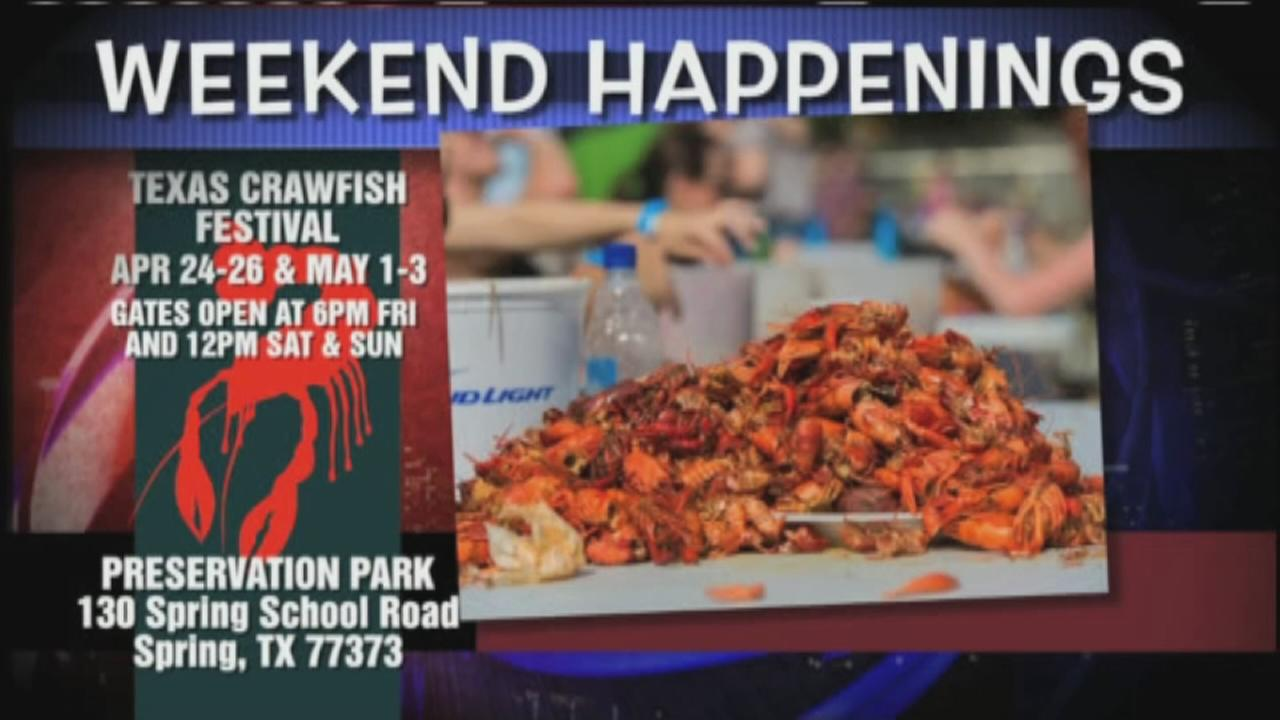 Whats going on across the Houston area this weekend?