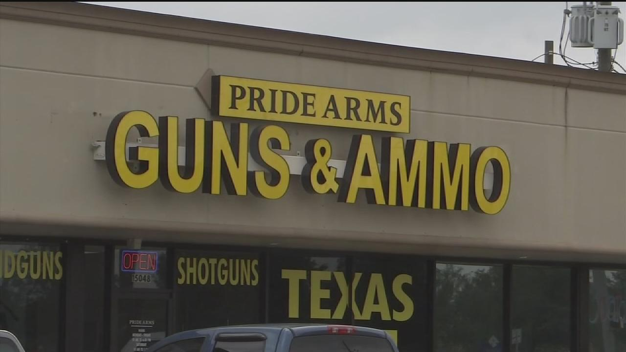 Gun store theft