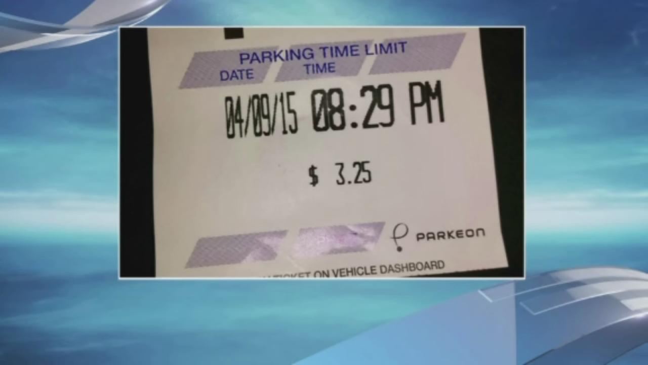 Woman outraged over parking ticket