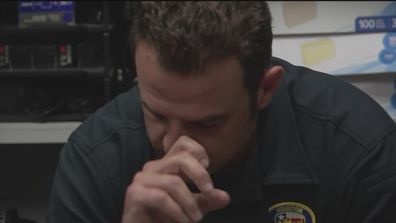 Houston firefighters open up about stress of the job