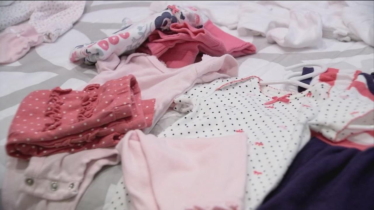 Tips on preparing the wardrobe for a new baby