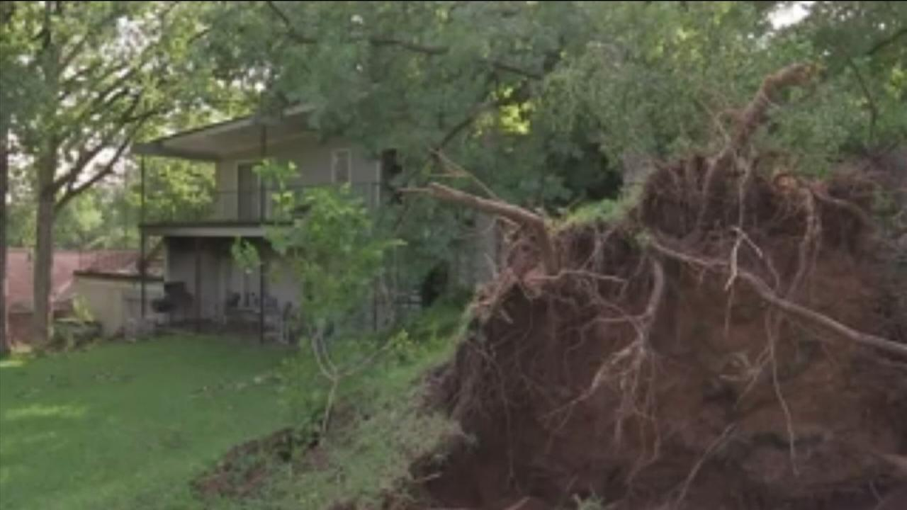Damage left in wake of strong storms