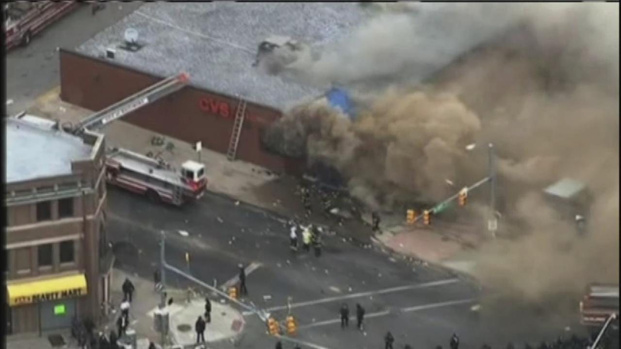 Erik Barajas on the rioting in Baltimore