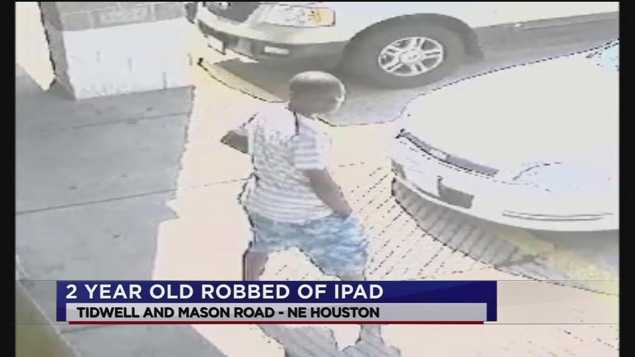 Police: Thug steals tots iPad, knocks him down