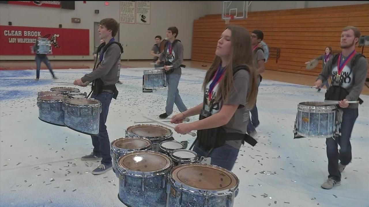 High school drumline takes honor on national stage