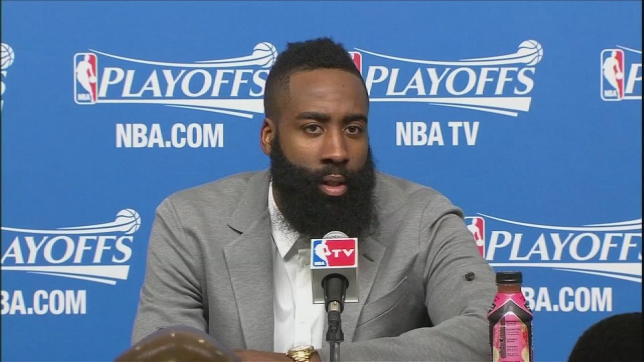 James Harden on Game 1 loss