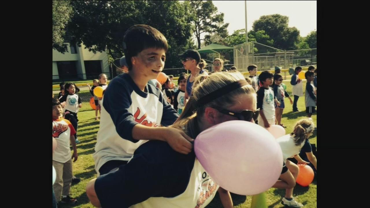 Teacher goes above and beyond at Field Day
